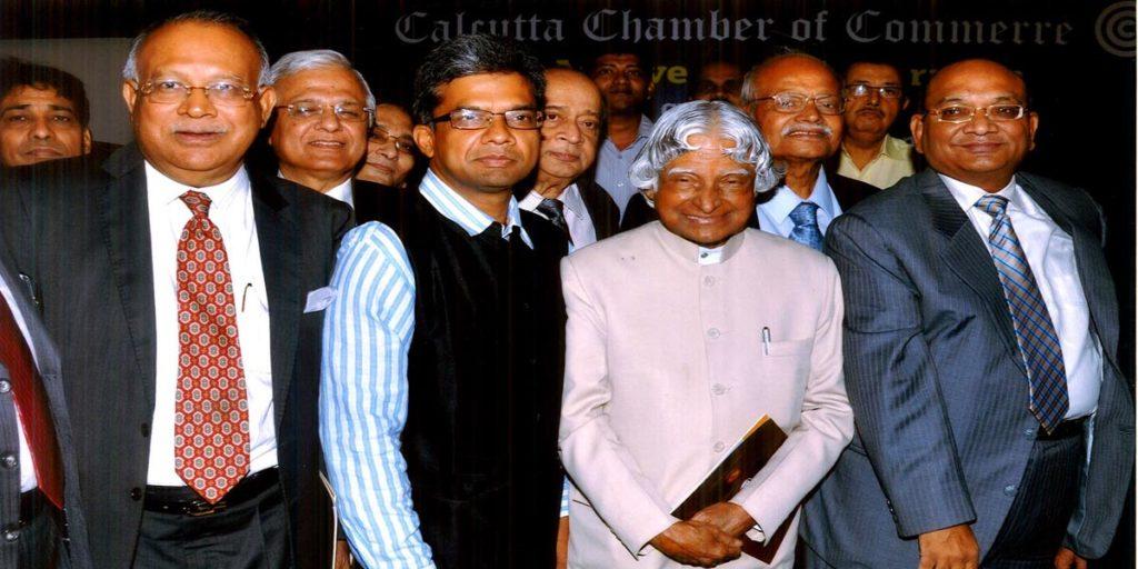 Manoj Mohanka with APJ Abdul Kalam